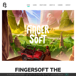 Fingersoft • Good Games - Great People