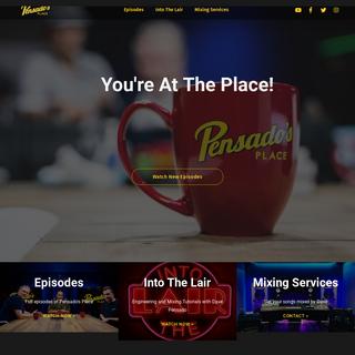 Pensado`s Place - The Official Website for Pensado`s Place