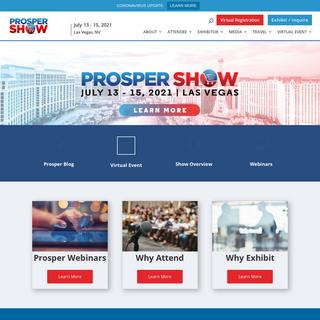 Prosper Show - Prosper Show