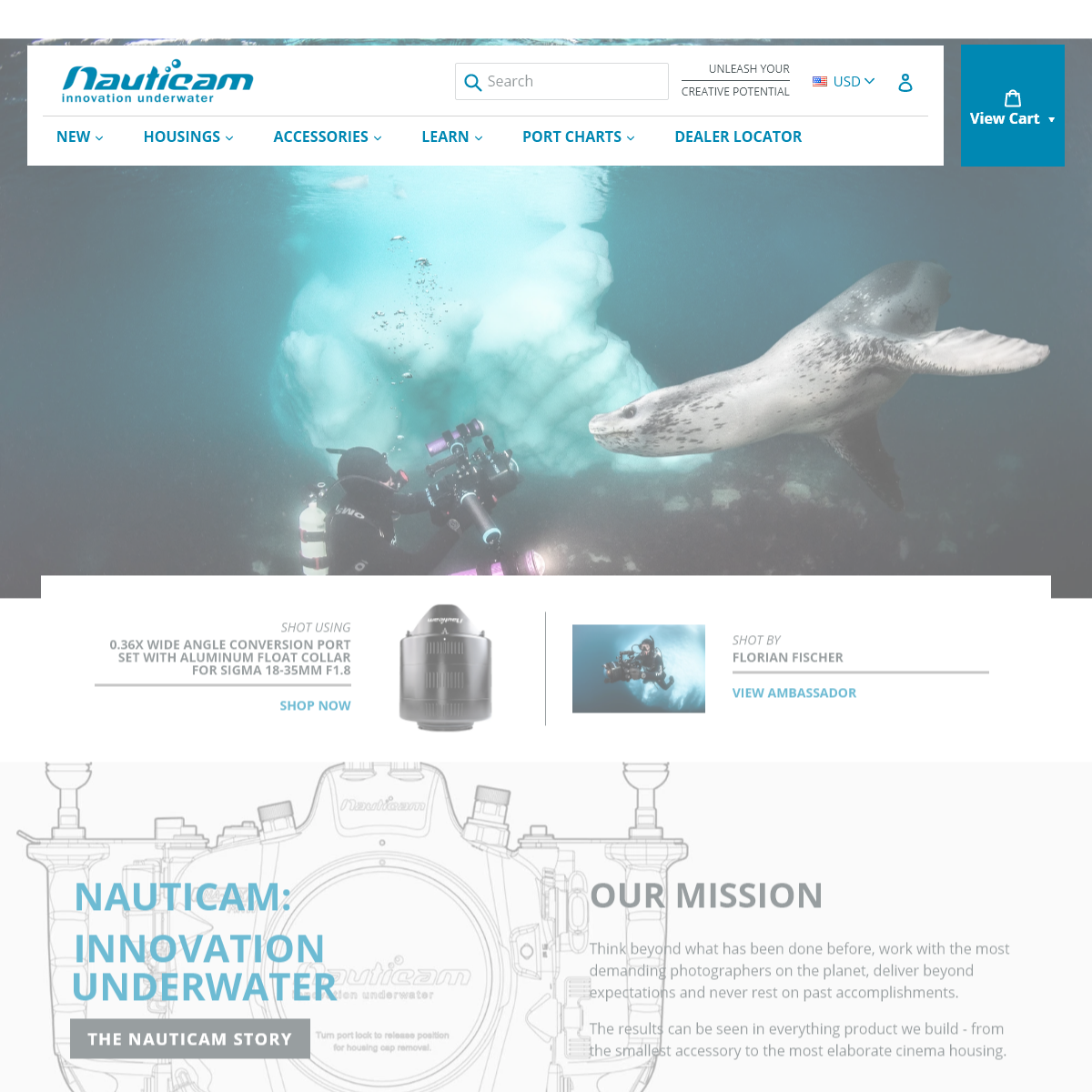Nauticam - Innovation Underwater