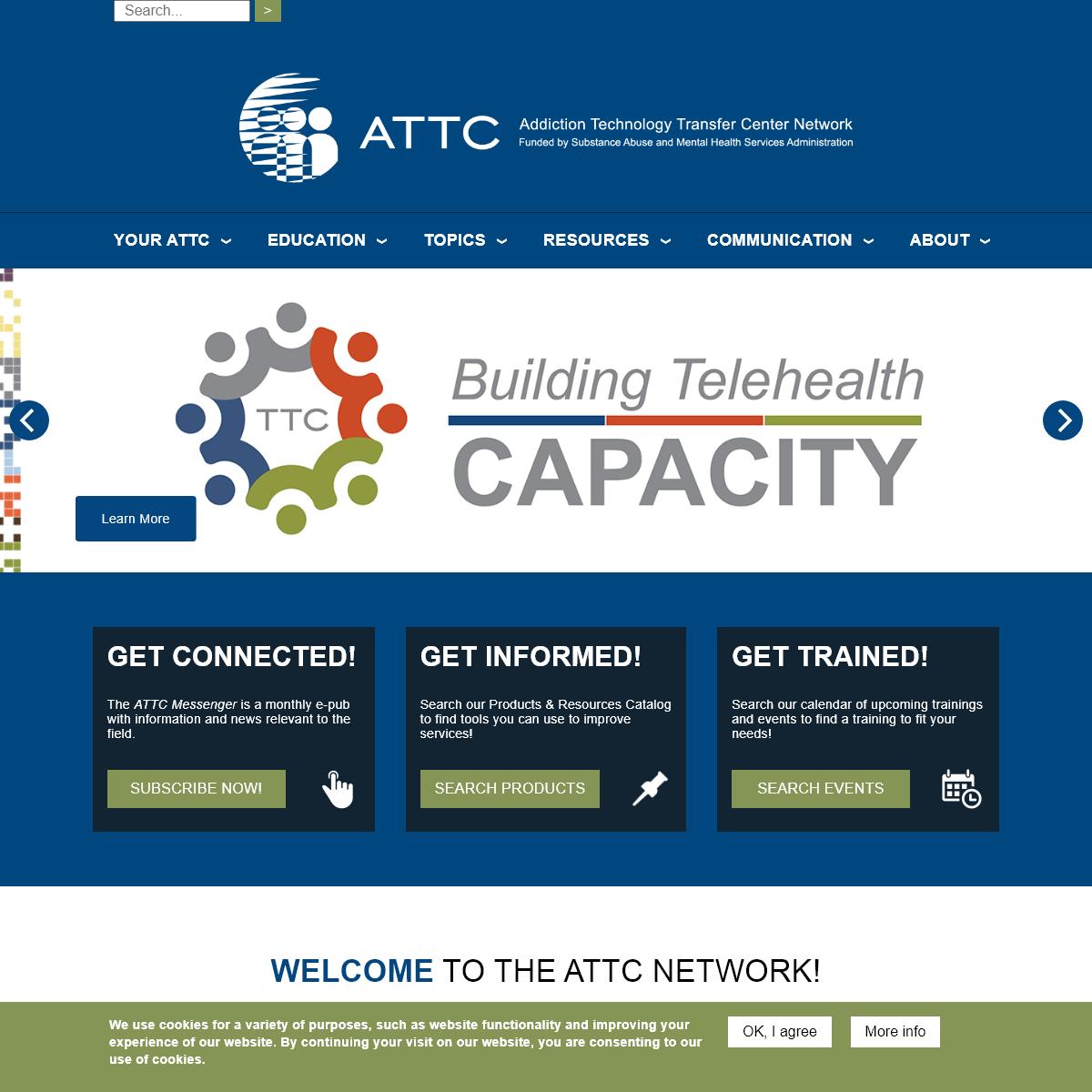 Home - Addiction Technology Transfer Center (ATTC) Network