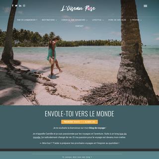 L`Oiseau Rose - Blog voyage qui vous aide à voyager !