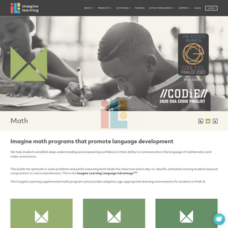 Math Programs - ImagineLearning