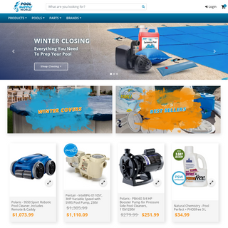 Pool Supplies, Spa Supplies and Parts - Pool Supply World