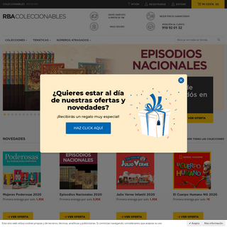 Tienda Online RBA Coleccionables
