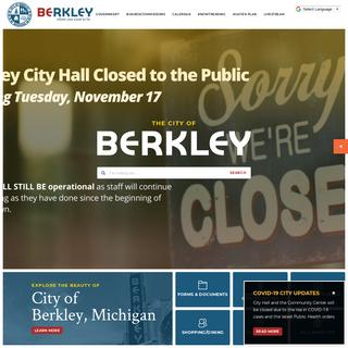 City of Berkley, Michigan