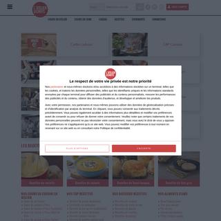 L`atelier des Chefs, des cours de cuisine et des recettes