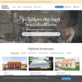 Vi har koll på läget - Svensk Fastighetsförmedling