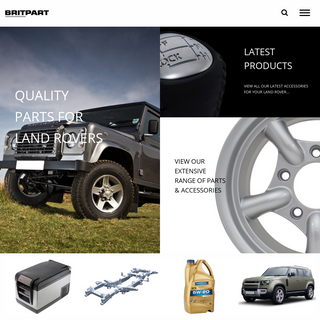 High Quality Land Rover Parts & Accessories UK - Britpart