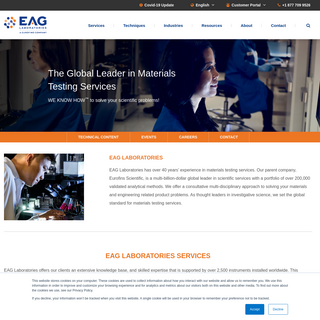 EAG Laboratories - The global leader in materials testing services