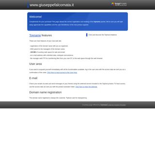 Welcome on www.giuseppefalcomata.it