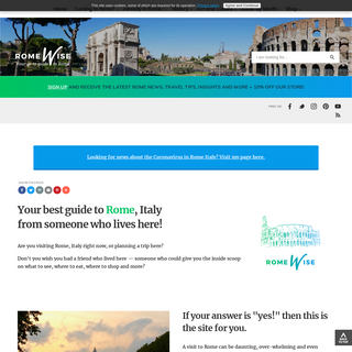 Rome Italy Travel Guide