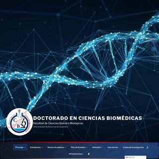 Doctorado en Ciencias Biomédicas – Facultad de Ciencias Químico Biológicas