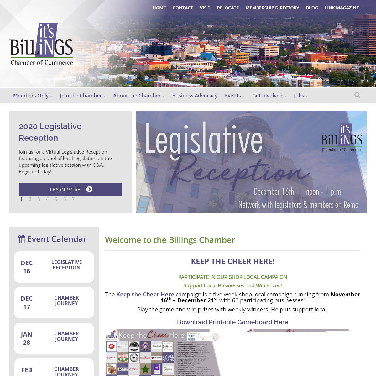 Home - Billings Chamber of Commerce