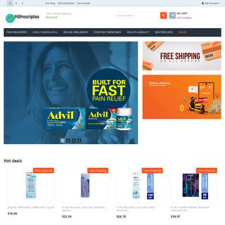 Online Pharmacy - PillPrescription.com