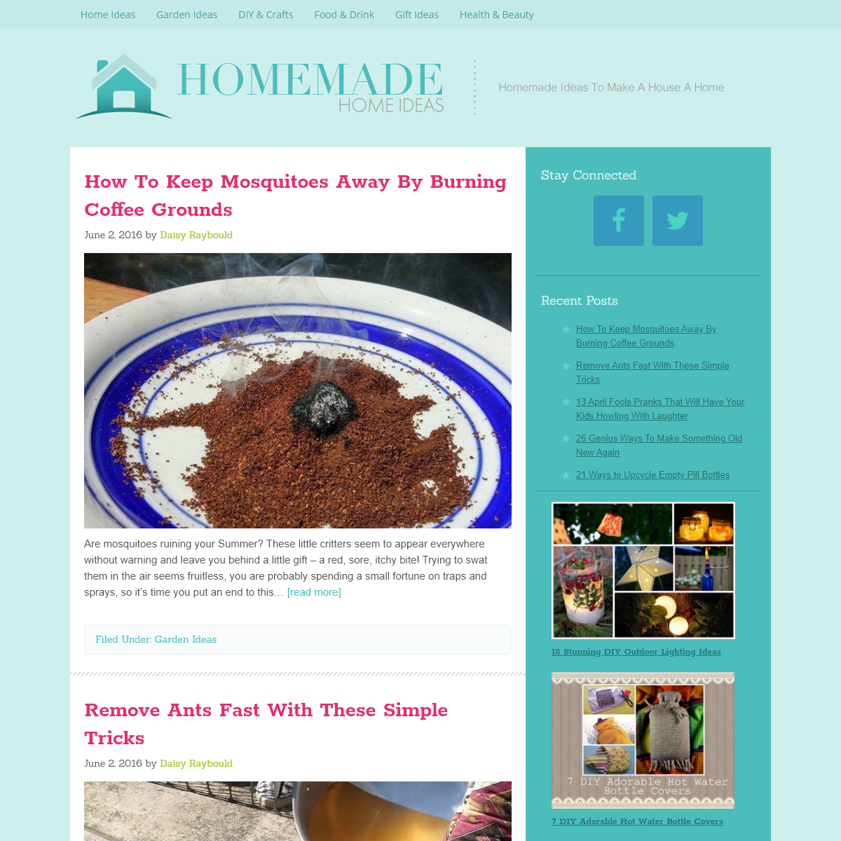 Homemade Home Ideas – Homemade Projects To Make A House A Home — Homemade Ideas To Make A House A Home