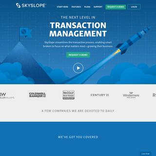 The Leader in Real Estate Transaction Management - SkySlope