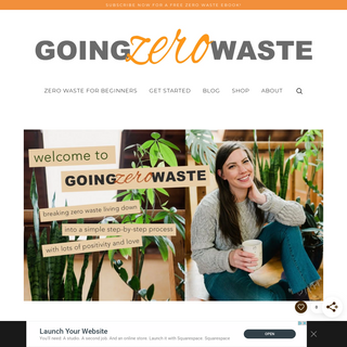 Homepage - Going Zero Waste