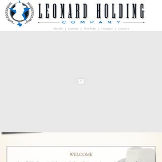 Leonard Holding Company