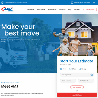 AMJ Campbell Moving and Storage Solutions - Canada`s Largest Mover