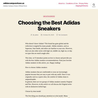 adidascampusshoes.us – Adidas Campus Shoes Official Store