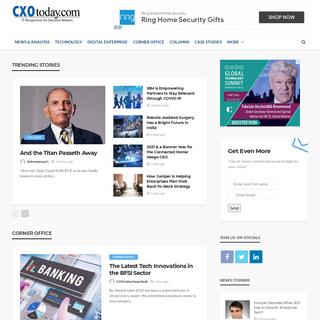 Technology News, Business Technology News, Information Technology News, Tech News India - CXOToday.com