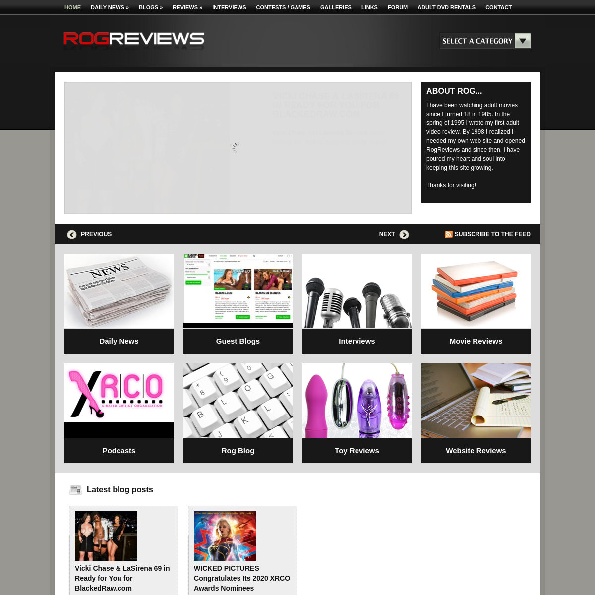 A complete backup of www.rogreviews.com