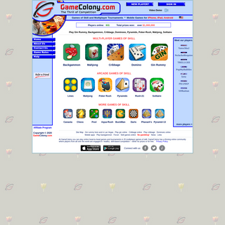 Play games online. Gin rummy, cribbage, dominoes, backgammon, pyramids, solitaire, mahjong, poker solitare, canasta, pool