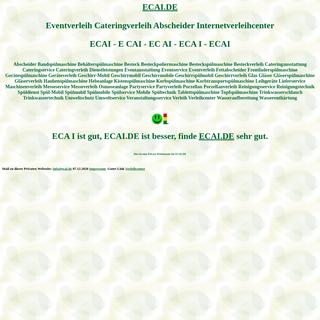 ecai Eventverleih Cateringverleih Abscheider verleihcenter Spülmobil Verleih Geschirrmobil Mieten