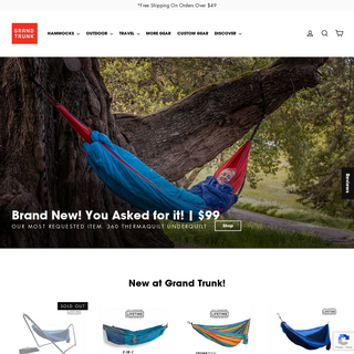 Grand Trunk - Goods For The Road - Superior Hammocks & Outdoor Gear – GrandTrunk