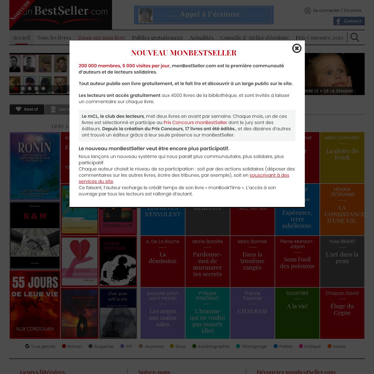 Livres PDF gratuits - les Best Of monBestSeller