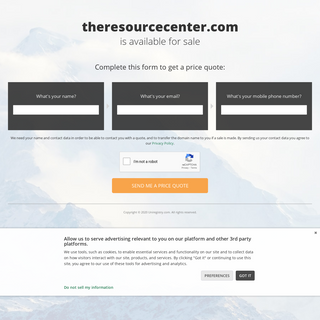 The domain name theresourcecenter.com is for sale - Uni Market