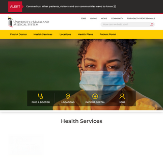 Expert Health Care for People of Maryland - University of Maryland Medical System