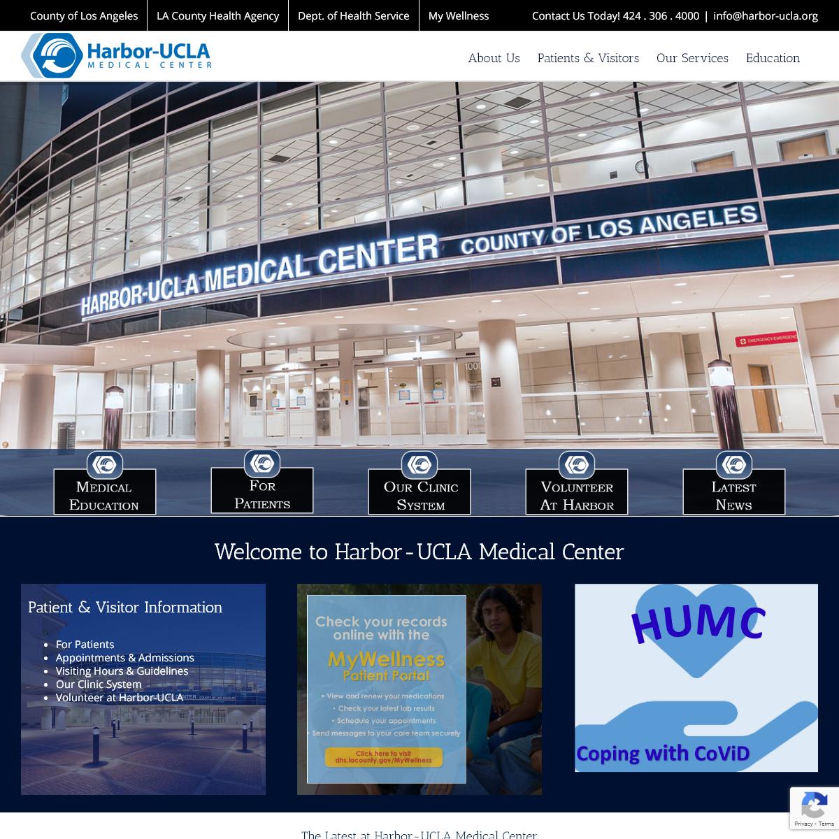 Home - Harbor-UCLA Medical Center
