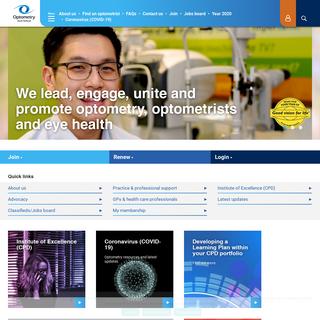 Home - Optometry Australia