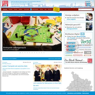 Münchener Wochenanzeiger - Wochenanzeiger München - Wochenblatt für München und Umgebung