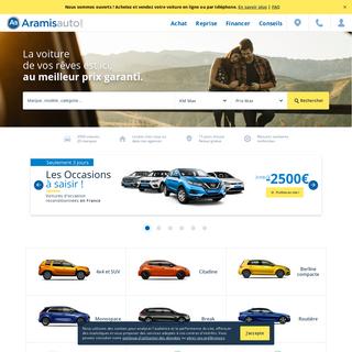 Aramisauto - Achat de voitures d`occasion ou neuves pas chères - Mandataire auto