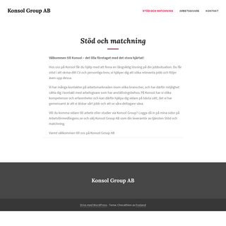 Konsol Group AB