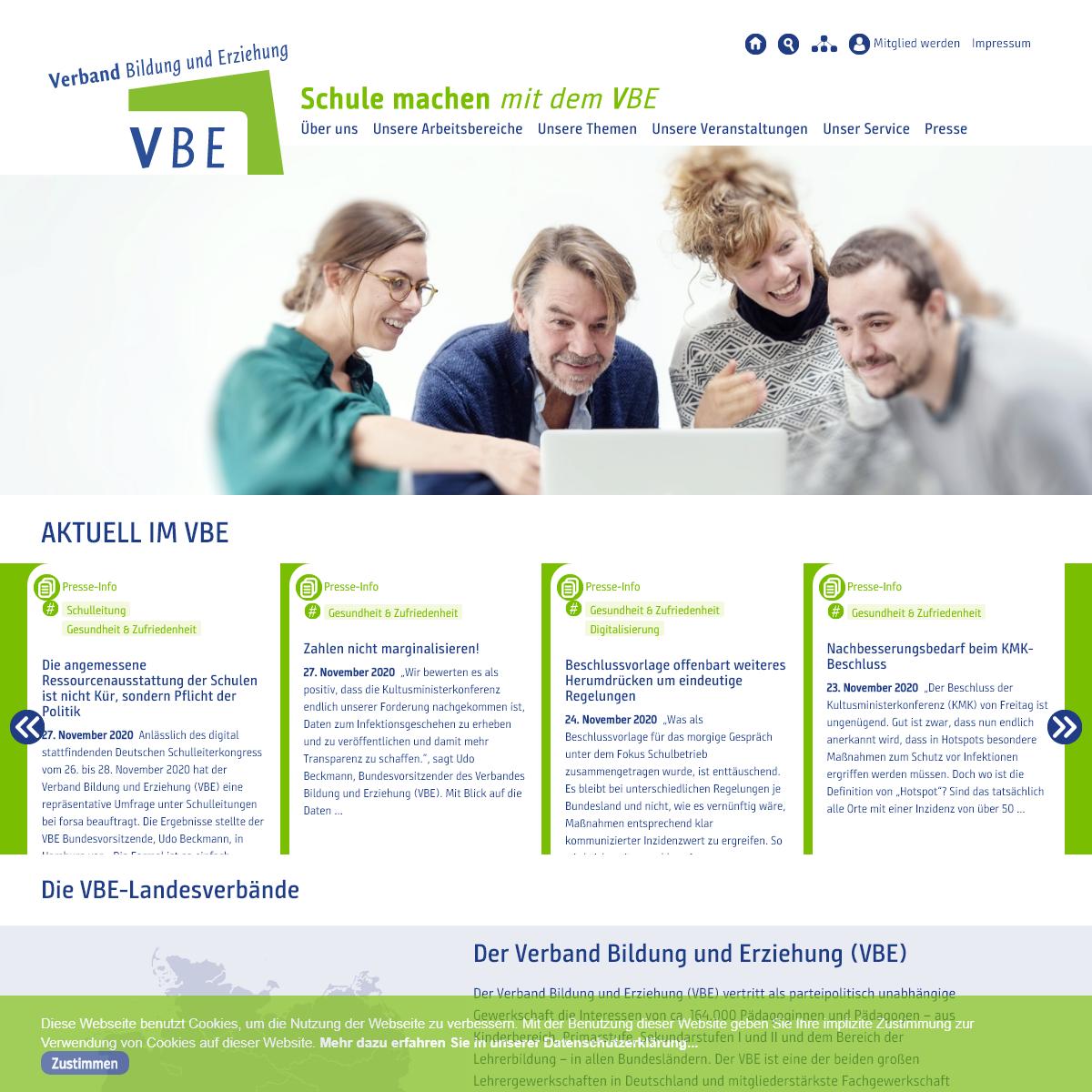 Startseite - VBE.de