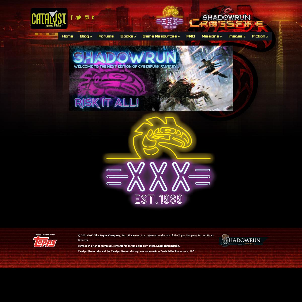 Shadowrun RPG - Catalyst Game Labs