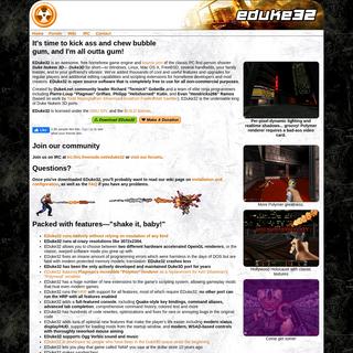 EDuke32 • Duke3D for Windows, Linux and OS X