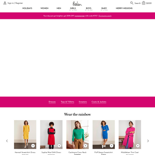 Boden US - Women`s, Men`s, Boys`, Girls` & Baby Clothing and Accessories