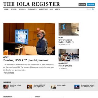 Home - The Iola Register