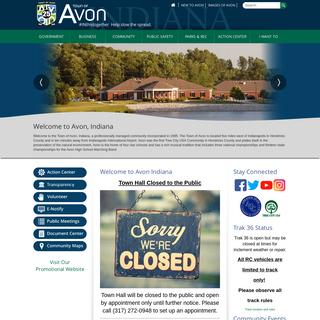 Home - Avon, IN