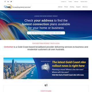 Home & Business Internet Service Provider - OntheNet