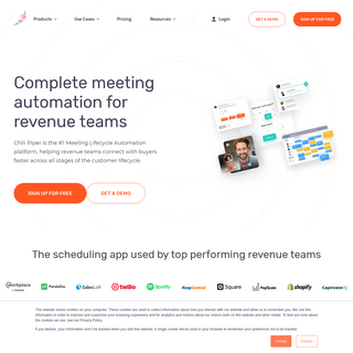 Chili Piper - Inbound Lead Conversion and Scheduling App