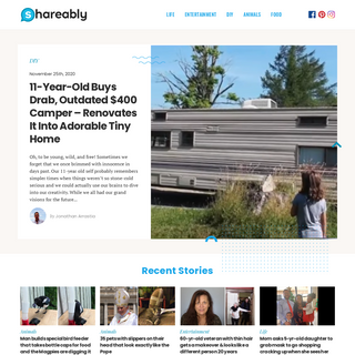Shareably - We are the next generation of storytellers