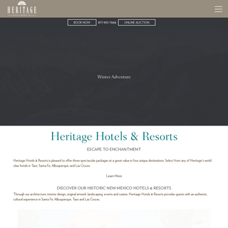 Historic Hotels in New Mexico - Heritage Hotels & Resorts