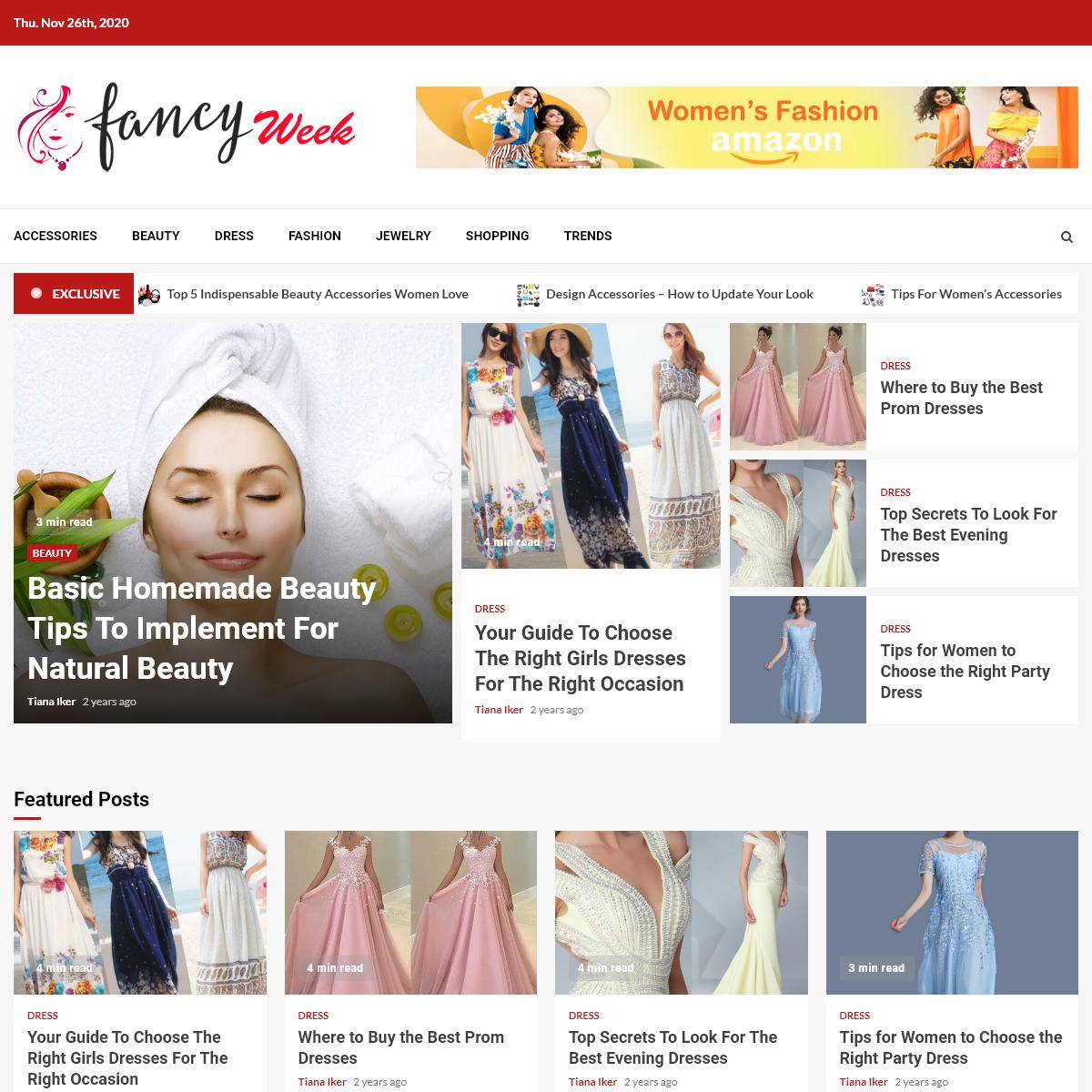 Fancy Week – Fashion Blog