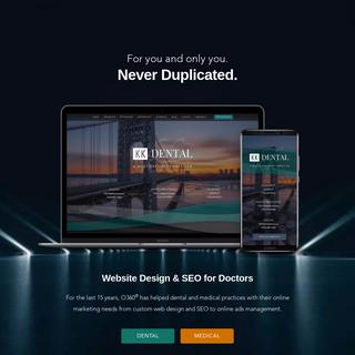 O360® - Dental & Medical Web Design & SEO - Optimized360 LLC